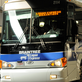 Braintree Logan Express Bus